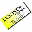 "Short 1.5"" x 3.5"" 16 pt Full Color Business Cards - Heavy Weight"