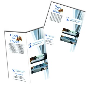 8.5'' x 5.5'' Brochures / Flyers/ Trifolds