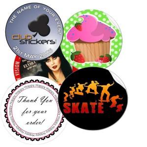 2.5'' Round Sticker Label