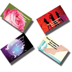 16 pt Full Color Business Cards - Heavy Weight